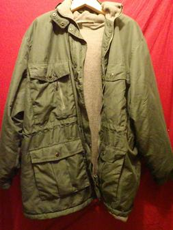 BRAND NEW 4XL Insulated Winter Raincoat with Hood King Size