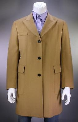 From the Closet of TOMMY HILFIGER 3-Btn Camel Cashmere Overc