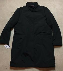 mens tommy hilfiger all weather flannel lined coat $395 blac