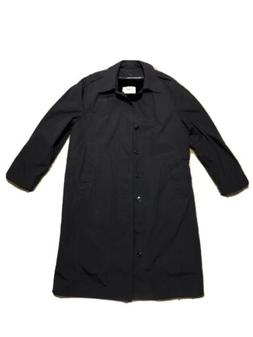 Men's All Weather Military Style Overcoat w/ Removable Lin