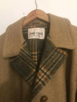 Mens Size 42 Wool Over Coat By Zerp King