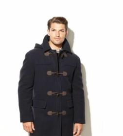 NWT RALPH LAUREN Mens Toggle Hooded Cashmere-blend Overcoat