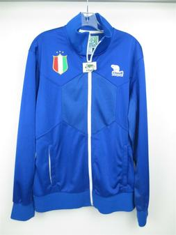 NWT ROOTS Sporting Goods ITALY Soccer Full Zip Jacket Men's