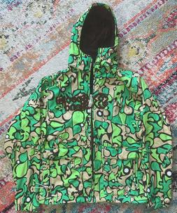 Special Blend snowboards green jacket with hoodie Size Mediu